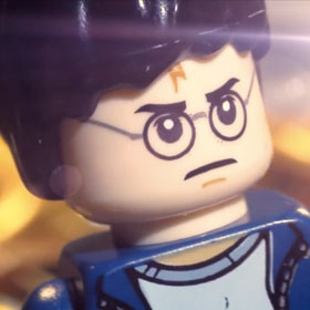 Stop Motion LEGO Harry Potter Film