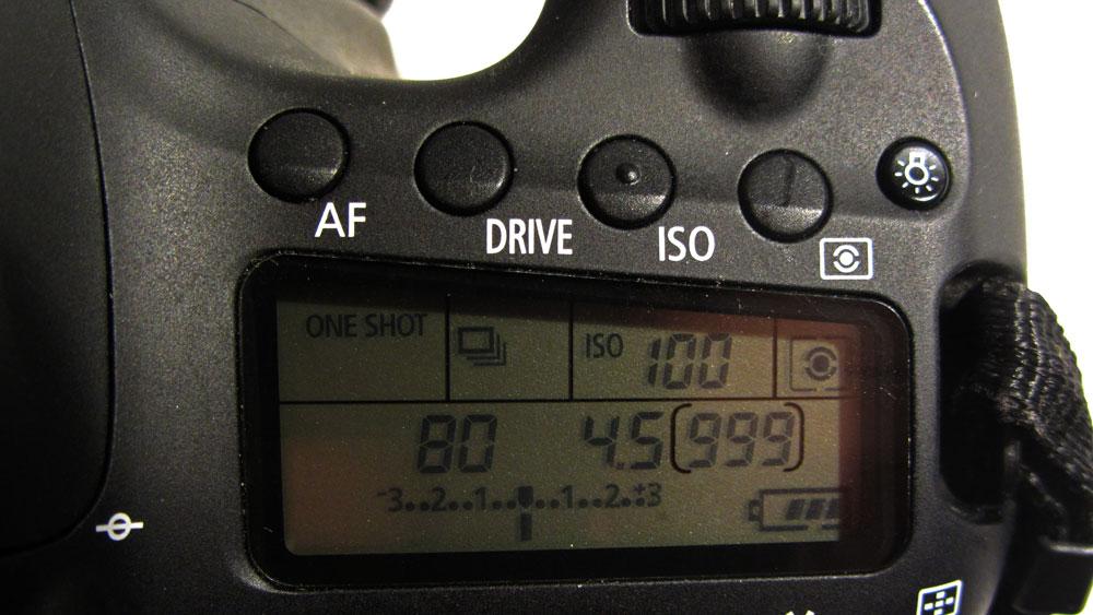 Kamera manuelle Belichtung