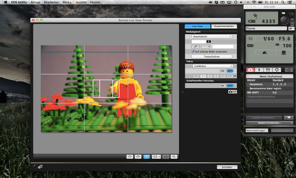Stop Motion Software Canon EOS Utility