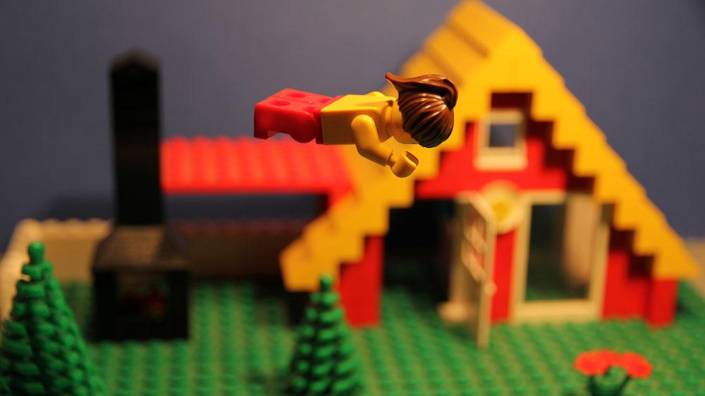 Sprünge und Flüge mit LEGO Stop Motion