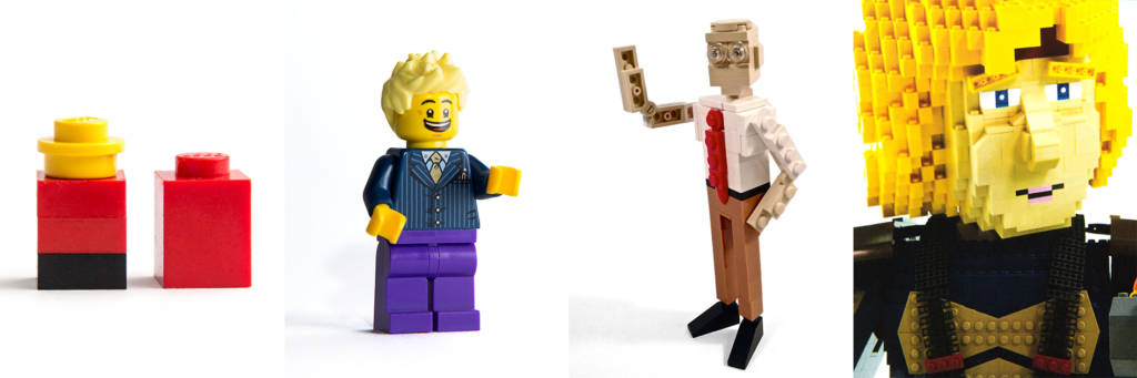 Different LEGO figure styles